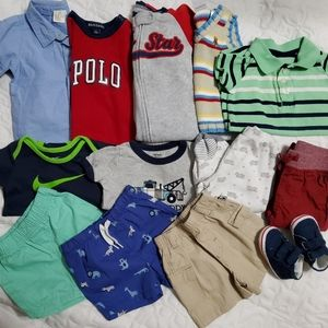 CLOTHES LOT FOR BABY BOY SIZE 3/6 MONTHS.